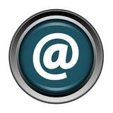 Arobase, at, bouton, internet, icône, web, net,