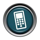 Téléphone, appel, contact, bouton, internet, icône,