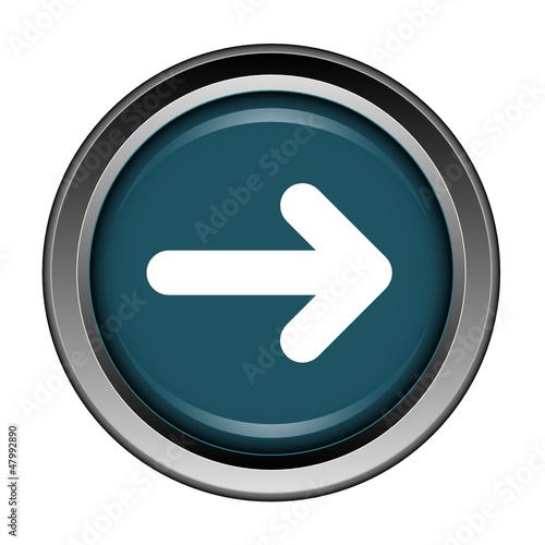 Flèche, suivant, bouton, internet, icône, web, net,