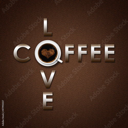 coffee love background
