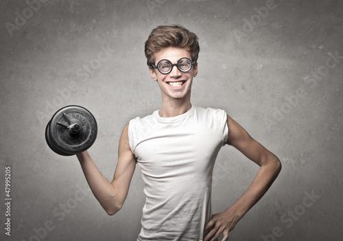 Muscular Nerd