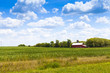 American Countryside in Summer Time