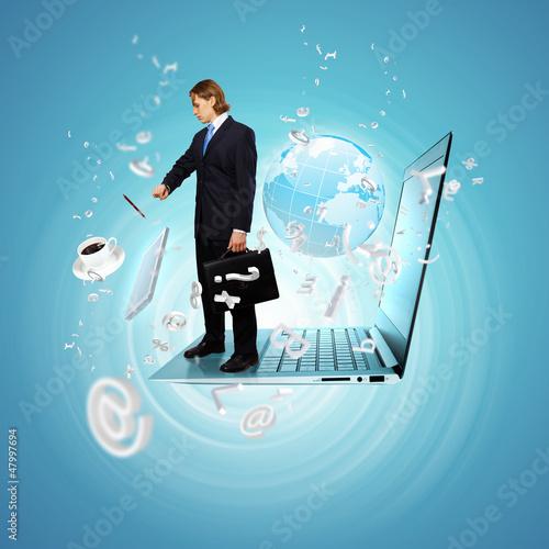 Modern technology illustration