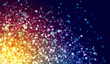 Multicolour abstract light background
