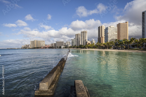 Waikiki Morning at the Breakwater