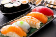 sushi und rolls