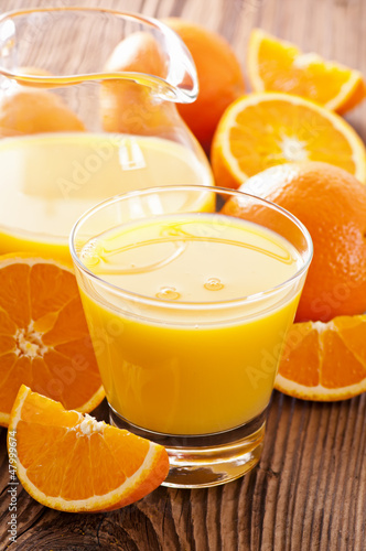 canvas print picture Orangensaft