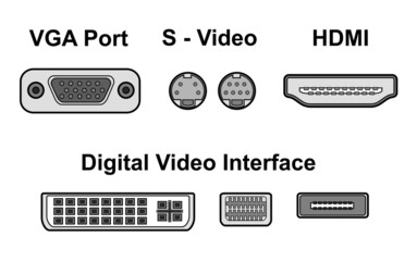 video ports, vector
