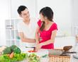 Kitchen flirt