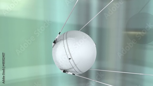 1957 Sputnik 1  first artificial earth satellite.
