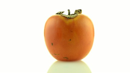 Red ripe persimmon