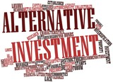 Word cloud for Alternative investment