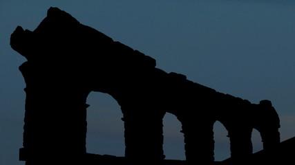 Italy Verona Arena moonrise