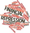 Word cloud for Financial repression