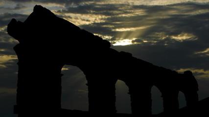 Italy Verona Arena sun passing