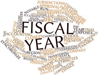 Word cloud for Fiscal year