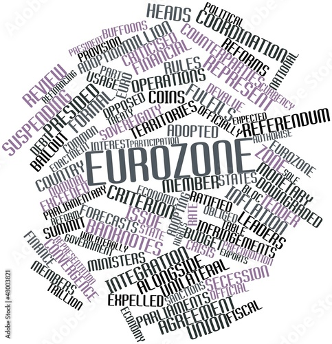 Word cloud for Eurozone