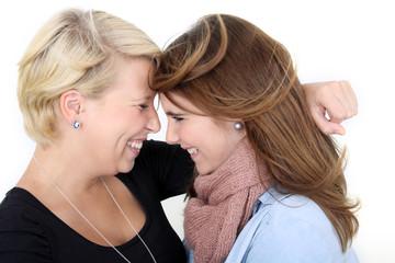 gemeinsam lachen