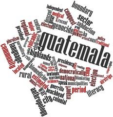 Word cloud for Guatemala