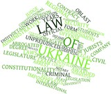 Word cloud for Law of Ukraine