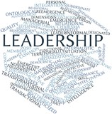Word cloud for Leadership
