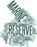 Word cloud for Marine reserve