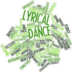 Word cloud for Lyrical dance