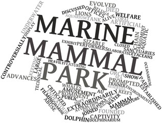 Word cloud for Marine mammal park