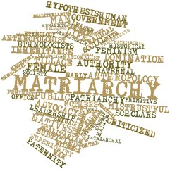 Word cloud for Matriarchy