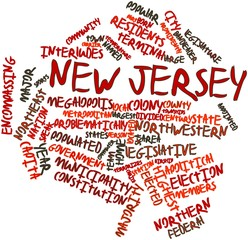 Word cloud for New Jersey