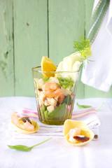 Insalata di frutti di mare e finocchio