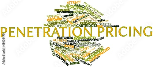 Word cloud for Penetration pricing