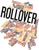 Word cloud for Rollover