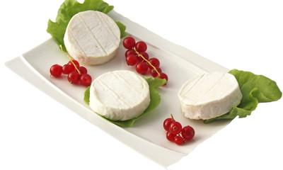 3 petits fromages et ses groseilles