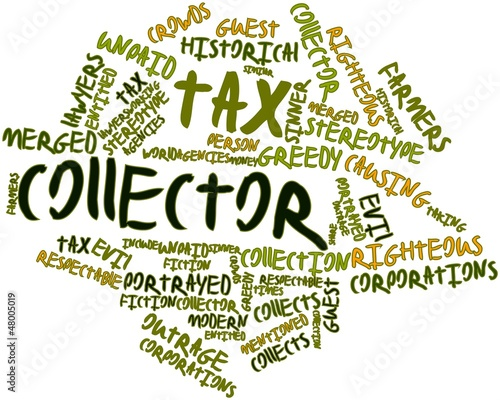 Word cloud for Tax collector