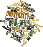 Word cloud for University spin-off