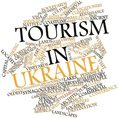 Word cloud for Tourism in Ukraine