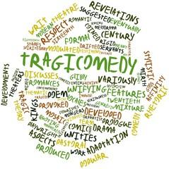 Word cloud for Tragicomedy
