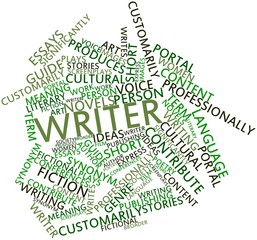 Word cloud for Writer
