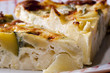 torta di patate e zucchine al forno