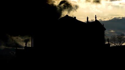 Italy Vicenza Villa Capra sky summoning
