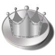 王冠 クラウン メダル コイン ダイヤモンド