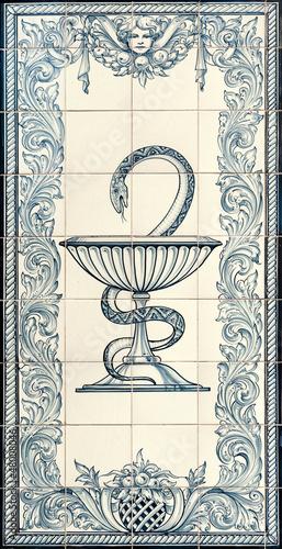 Old pharmacy symbol
