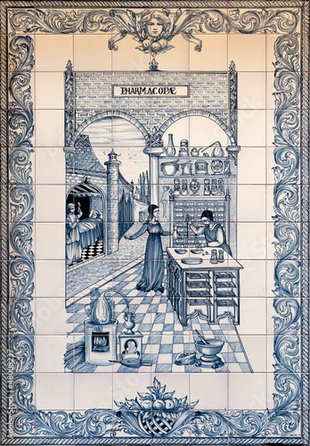 Pharmacy mosaic
