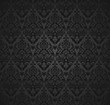 Damask seamless pattern and wallpaper