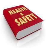 Book of Health and Safety Rules Regulations poster