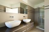 interior modern bathroom