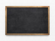 canvas print picture - Blank old blackboard