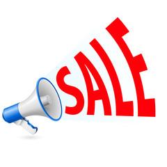 Sale megaphone