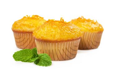 cupcakes with orange jam